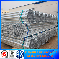 Electronic pipes galvanized scaffolding welded tube!galvanized setel pipe
