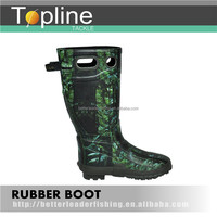 Long Fishing Rubber Safety Boots for Men