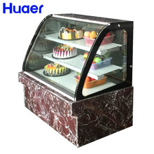 cooler cake display cabinet refrigerate for coffee shop