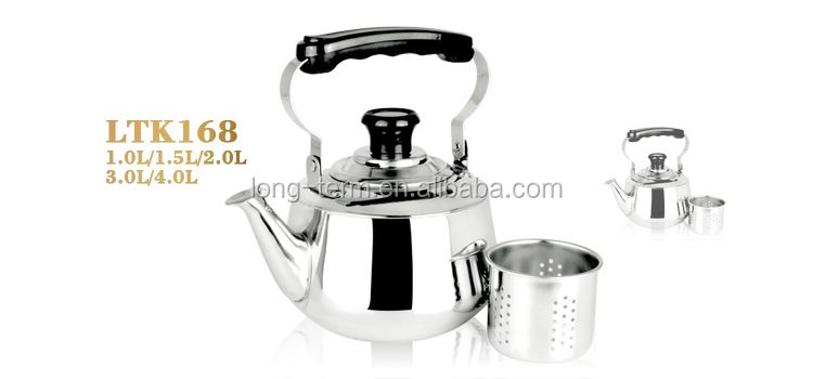 LTK168 2016 Durable stainless steel thermoset kettle