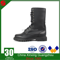 China Xinxing new arrival genuine leather military police boots/used military boots