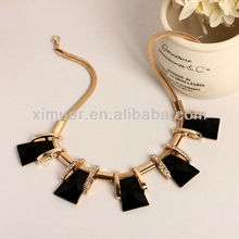 Jewelry factory design fashion personality geometric necklace