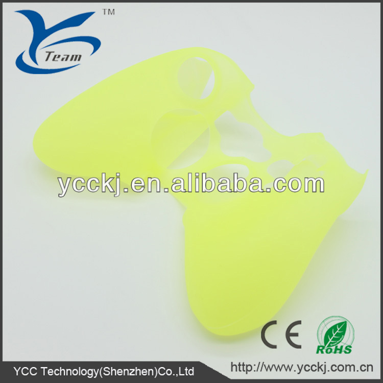 hot selling durable udst-free green silicon case for xbox 360/for xbox one china professional manufacturers high quality