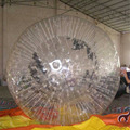 TPU zorb ball/human bubble ball for kids and adult