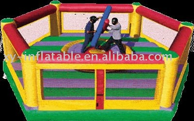 hot sale Custom made inflatable gladiator duel