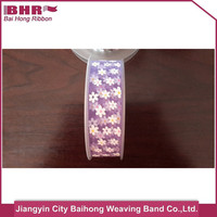 Jiangyin single face matellic ribbon for shoes