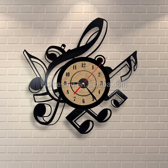 Creativa de la nota Musical disco de vinilo CD acrílico sin marco ...