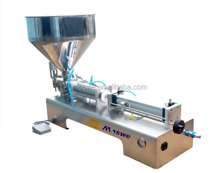 cream filling machine/liquid soap/dishwash liquid filling machine
