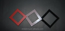 High quality tempered glass panels for wall light switches plates, touch wall glass