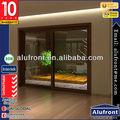 European Design Aluminium Clad Wood Sliding Doors With German Hardware
