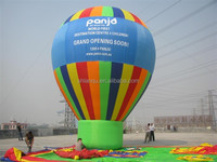 high quality inflatable ground hot air balloon for advertising
