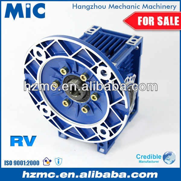 NMRV030 Worm Gear Reducing Gearbox with dc Motor