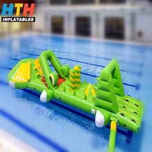 Professional supplier giant inflatable water obstacle course