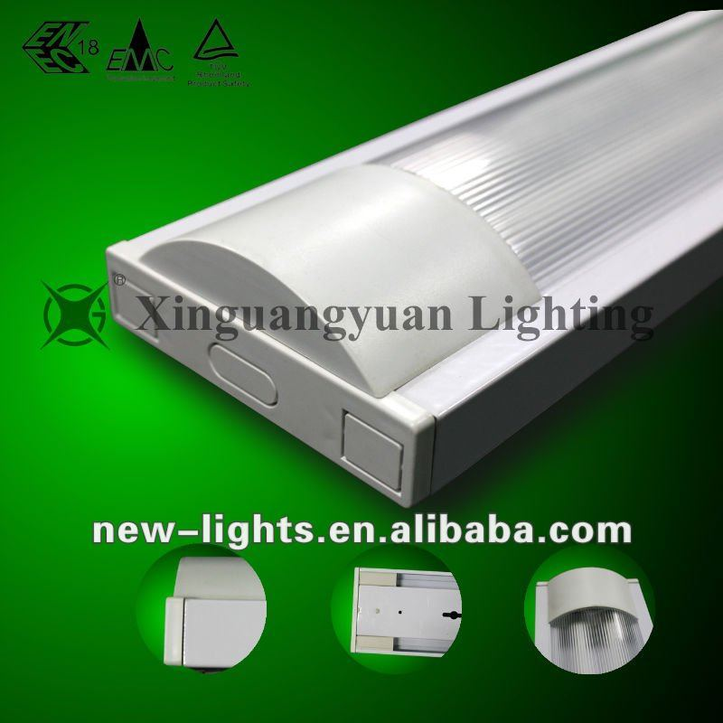 steel body T5 lighting with PC cover