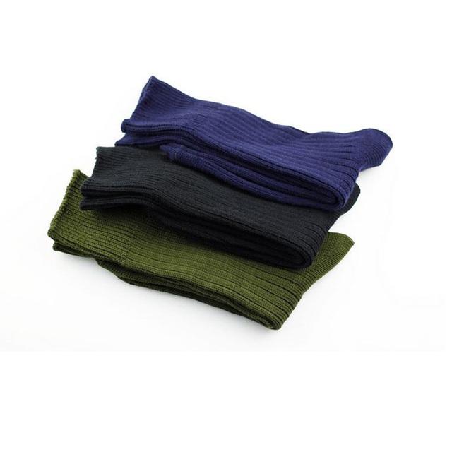 military olive green plain knit long stockings commando socks and men's socks stocking