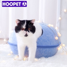New Products Winter Lovely Felt Cat Egg Bed OEM
