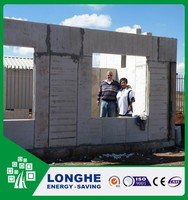 Longhe lowes cheap 75mm eps cement sandwich wall panel