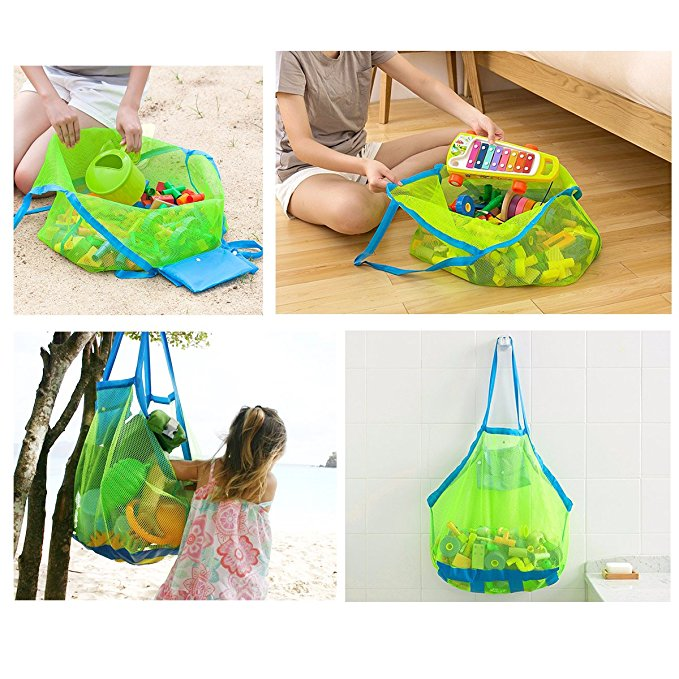 new design wholesale Mesh Beach Tote Bag