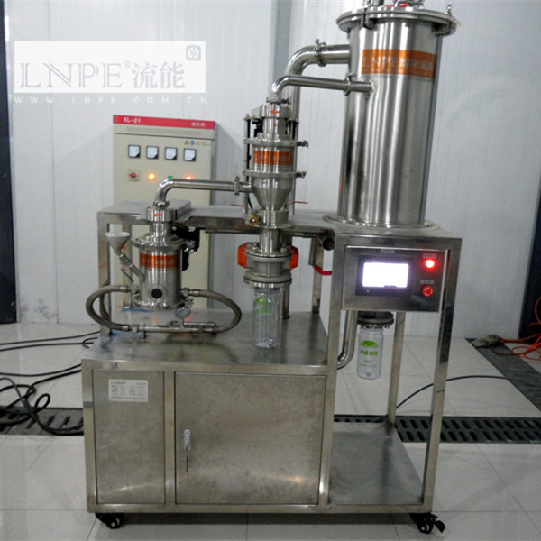 lab pulverizing mill and classifier for black cohosh micron powder