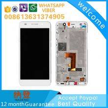 Best quality for Huawei Ascend P6 lcd screen digitizer 5 inch with original color