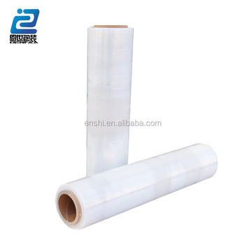 500 mm x 20 mic pallet shrink wrap polyethylene transparan stretch film