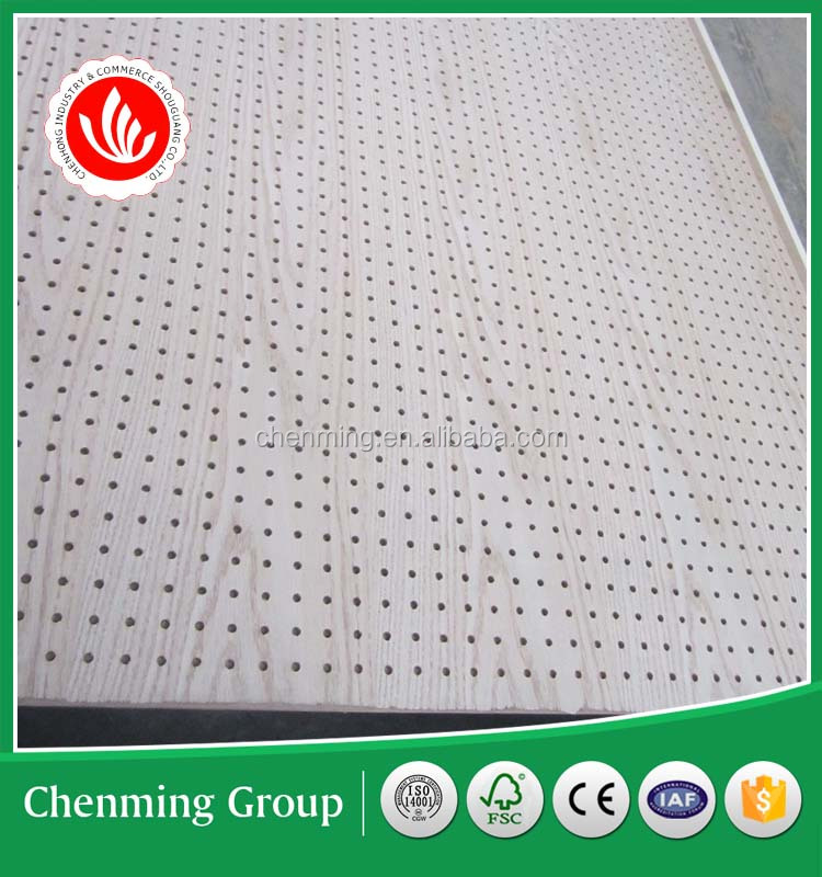 MDF pegboard for shop display