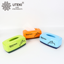 Modern design plastic PP tissue case for family