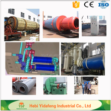 98 KW wood chip / wood sawdust drum dryer