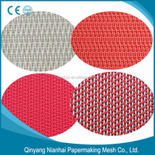 polyester dryer fabric mesh red flat dryer fabrics mesh