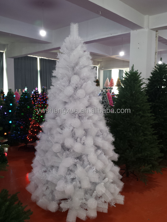 Wholesale Factory Holiday Decoration 5ft 6ft 7ft 8ft white christmas tree pine Artifical Christmas Tree