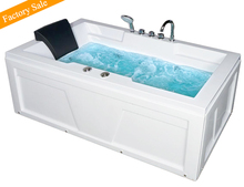Cheap Freestanding Rectangle Whirlpool Hydro Massage Bathtub In Size 1700 For Adults With Jet Surf