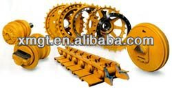 Undercarriage spare parts for excavator and bulldozer undercarriage parts liebherr spare parts