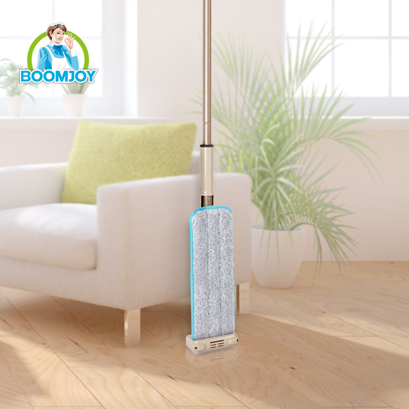 Hot sale hands free microfiber flat mop with super smooth squeeze/ 360 rotation mop