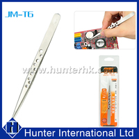 Factory Price Stainless Steel Anti-Slippery Tweezers