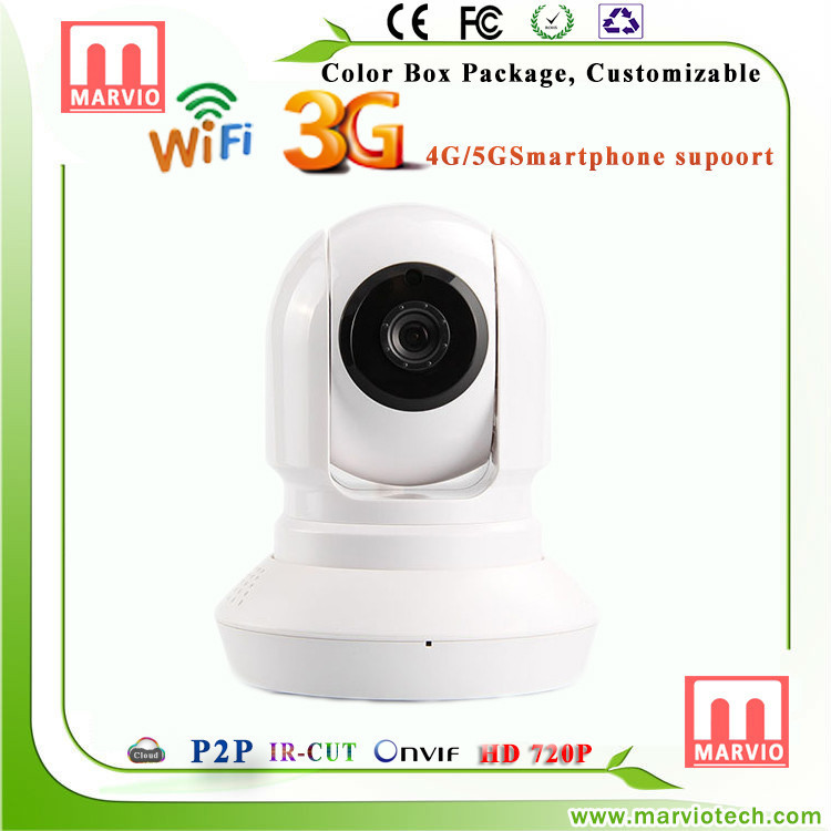 Marvio ip pan tilt wifi camera 370 Series home security system gsm ipcam CCTV surveillance manufacturer