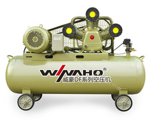 2015 WEIHAO 200L belt driven air compressor AC electric motor high pressure air compressor for sale