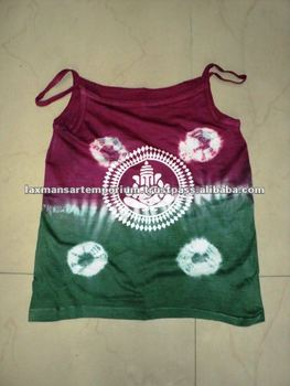hand printed ladies t-shirts for summer from india