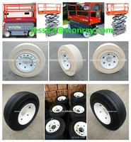 china supplier skyjack 113815 108876 108877 small wheels and tires 4.00-8/3.75