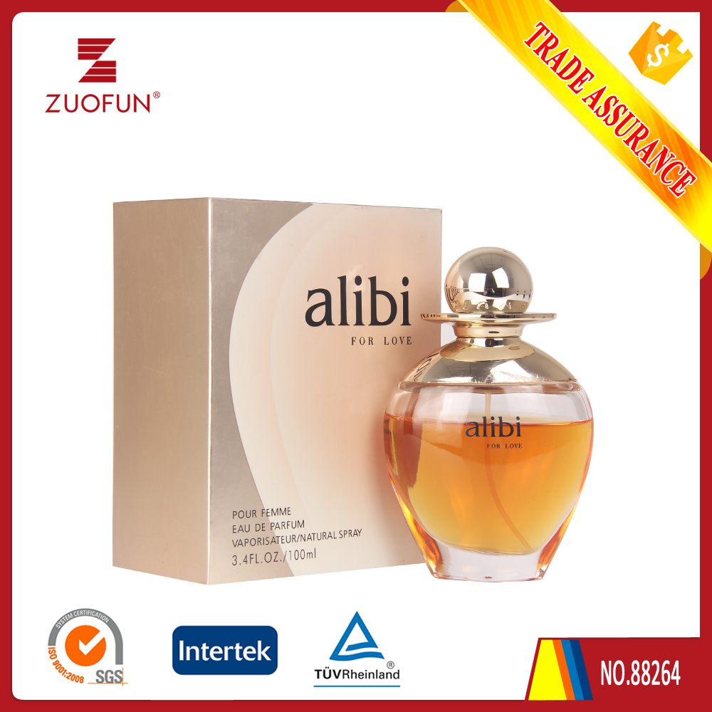 ALIBI FOR LOVE (GOLDEN) SEXY RED PERFUME, HOT-SALED SINGLE PERFUME FOR WOMEN .NEW ROMANCE FLORAL PERFUME FOR WOMEN