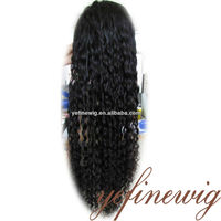 Fashional Kinky Curly India Remy Hair Wig Shop