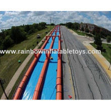1000ft Adult Customized Inflatable Slip N Slide Inflatable Slide The City
