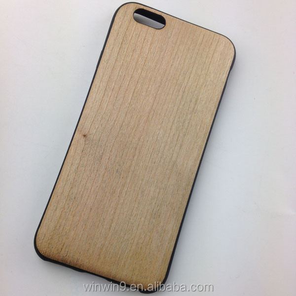 Classical High Quality Ultra Thin Wooden Pattern TPU case for iphone SE