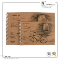 Best Quality Spiral Paper Cover Sketch Book