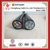 Multi-core copper/aluminum power cable