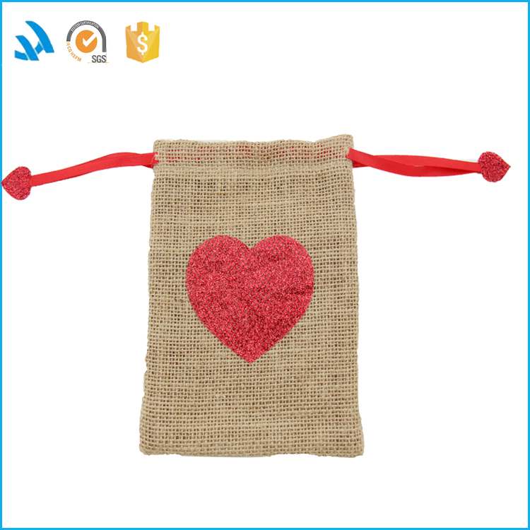 Wholesale eco-friendly promotional jute bag dust collector