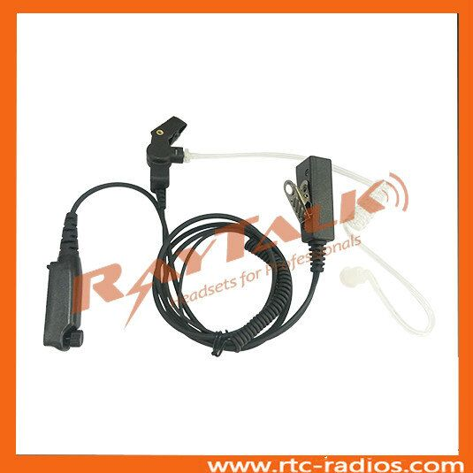 Acoustic Tube earpiece for Sepura radio STP8000 STP9000 Two Way Radio