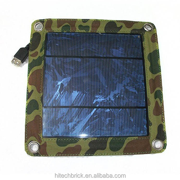 New 3W High efficiency outdoor solar panel charger /Folding solar charging bag/solar power bank