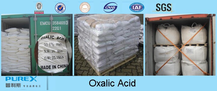 High Quality 99.6%min H2c2o4.2h2o Oxalic Acid In Bulk