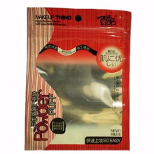 three side seal beef jerky/ dried squids snack flexible packaging bag