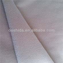 Hot sofa fabric polyester burn out velour with T/C farbic